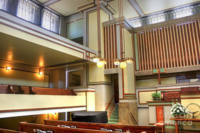 Photograph - Unity Temple - 1 by David Bearden