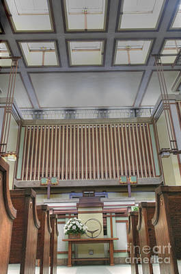 Photograph - Unity Temple - 4 by David Bearden
