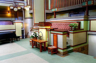 Photograph - Unity Temple - 5 by David Bearden