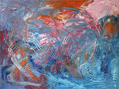 Opus 1 Painting - Universal Notes by Tao Chi