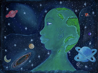 Oneness Painting - Universal  Oneness by Jahweh David