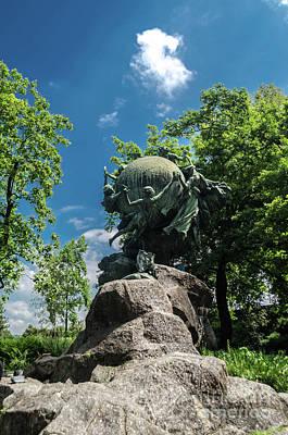 Photograph - Universal Postal Union Monument - Bern, Switzerland  by Michelle Meenawong
