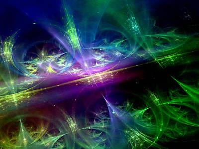 Digital Art - Universal Rhythms by Jeff Iverson