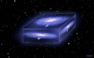 Digital Art - Universe In A Box by James Vaughan