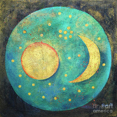 Painting - Universe by Jutta Maria Pusl
