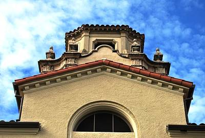 Photograph - University Architecture - Mason Hall - Pomona College by Matt Harang