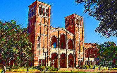 Painting - Ucla by DJ Fessenden