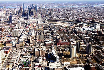 Franklin Field Photograph - University City Philadelphia by Duncan Pearson