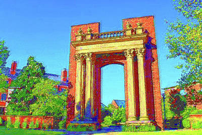 Mixed Media - University Of Illinois  by DJ Fessenden