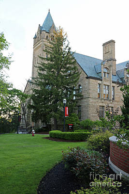 Photograph - University Hall Ohio Wesleyan University 0847 by Jack Schultz