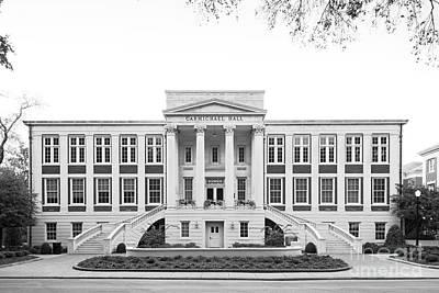 Bama Photograph - University Of Alabama Carmichael Hall by University Icons