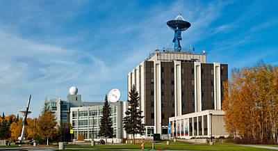 Photograph - University Of Alaska Fairbanks - West Ridge by Cathy Mahnke