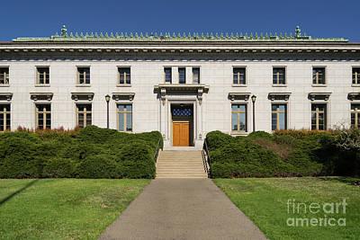 Photograph - University Of California Berkeley California Hall Dsc4680 by Wingsdomain Art and Photography