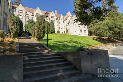 Photograph - University Of California Berkeley Historical Bowles Hall College Dormatory Dsc4729 by Wingsdomain Art and Photography