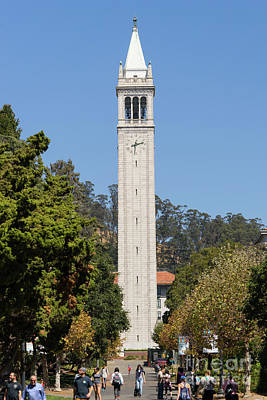 Photograph - University Of California Berkeley Sather Tower The Campanile Dsc4623 by Wingsdomain Art and Photography