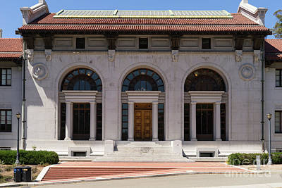 Photograph - University Of California Berkeley The Hearst Memorial Mining Building Dsc4125 by Wingsdomain Art and Photography