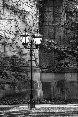 Hyde Park Photograph - University Of Chicago Hall Garden by University Icons
