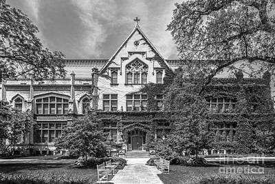 Diploma Photograph - University Of Chicago Haskell Hall by University Icons
