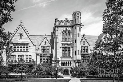 Hyde Park Photograph - University Of Chicago Ryerson Hall by University Icons