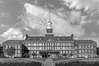 Greater Cincinnati Photograph - University Of Cincinnati Mc Micken Hall by University Icons