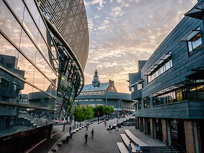 Photograph - University Of Cincinnati On A September Evening by Rob Amend