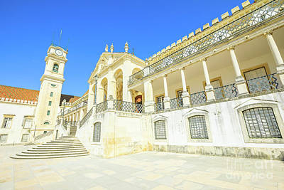 Photograph - University Of Coimbra by Benny Marty