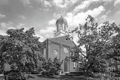 University Of Dayton Chapel Art Print