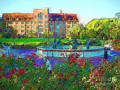 University Of Florida Art Print