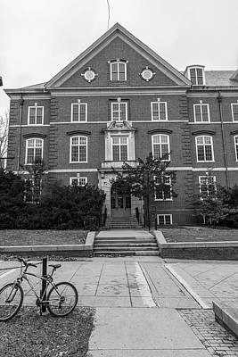 Photograph - University Of Illinois Black And White Campus by John McGraw