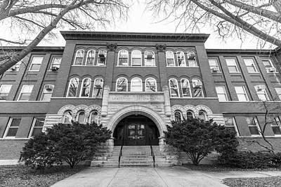 Photograph - university of Illinois Chemistry  by John McGraw