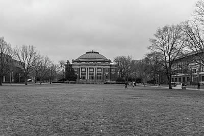 Photograph - university of Illinois Foellinger Auditorium by John McGraw
