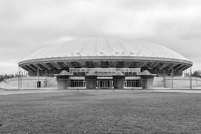Photograph - University Of Illinois State Farm Center  by John McGraw