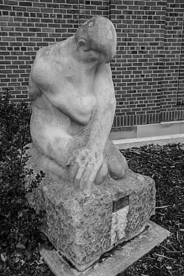 Photograph - University Of Illinois Statue 2 by John McGraw