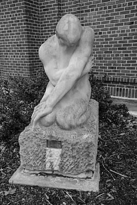 Photograph - University Of Illinois Statue 3 by John McGraw