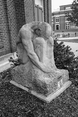 Photograph - University Of Illinois Statue 5 by John McGraw