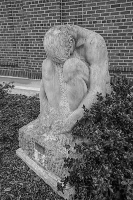 Photograph - University Of Illinois Statue 6 by John McGraw