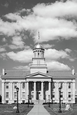 Photograph - University Of Iowa Old Capital Vertical by University Icons