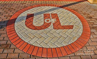University Of Louisville Photograph - University Of Louisville Brickwork 1917 by Jack Schultz
