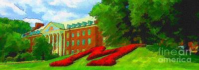 University Of Maryland  Art Print