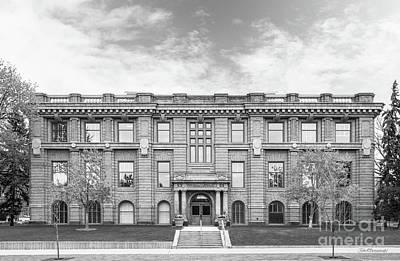 Photograph - University Of Minnesota Jones Hall by University Icons