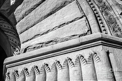 University Of Minnesota Photograph - University Of Minnesota Pillsbury Hall Detail by University Icons