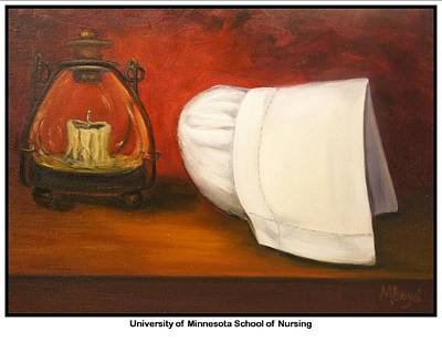 University Of Minnesota Painting - University Of Minnesota School Of Nursing by Marlyn Boyd
