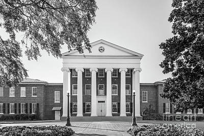 Photograph - University Of Mississippi Lyceum by University Icons