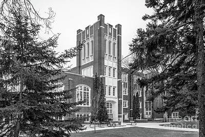 Photograph - University Of North Dakota Chester Fritz Library by University Icons