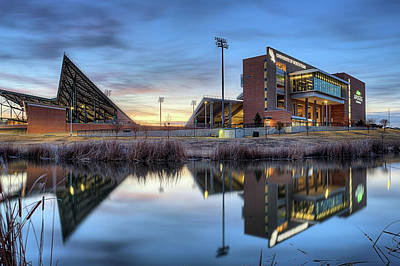 Photograph - University Of North Texas Apogee Stadium by JC Findley