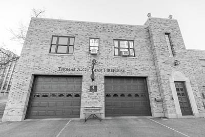 Photograph - University Of Notre Dame Fire Station  by John McGraw