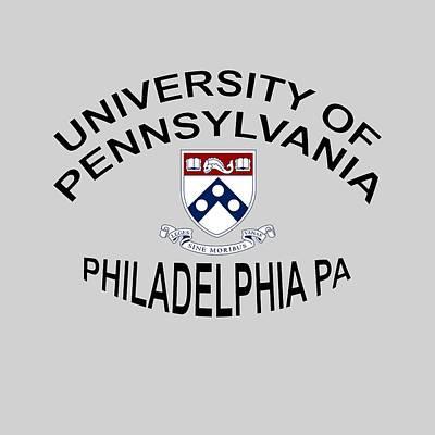 University Of Pennsylvania Philadelphia P A Art Print