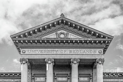 Photograph - University Of Redlands Administration Building by University Icons