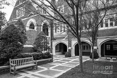University Of Virginia Photograph - University Of Richmond Garden Of Five Lions by University Icons