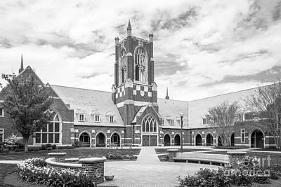 University Of Virginia Photograph - University Of Richmond Jepson Hall by University Icons
